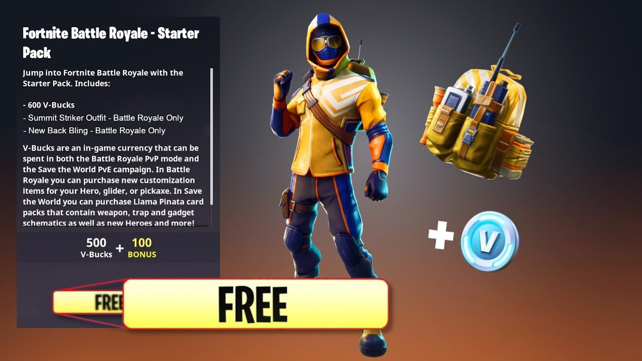 "How To Get ""SUMMIT STRIKER STARTER PACK"" For FREE! NEW ..."