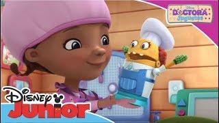 La Doctora Juguetes: Momentos Especiales -  El panqueque | Disney Junior Oficial