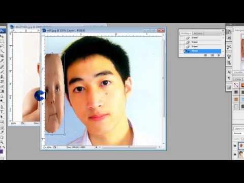 การตัดต่อภาพโดย Photoshop CS3