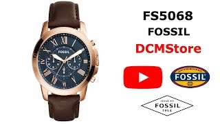 FS5068 Fossil Grant Blue Dial ...... DCMStore