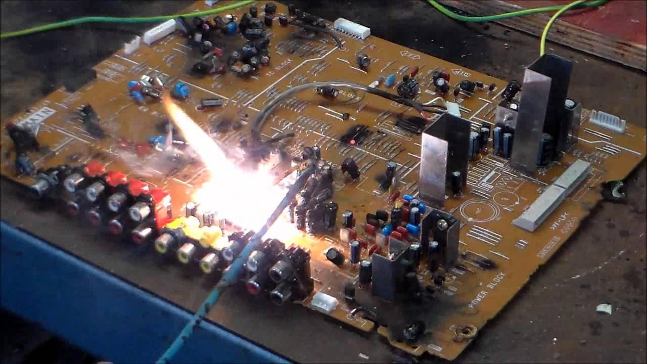 Electronic Circuit Of Smoke Detector