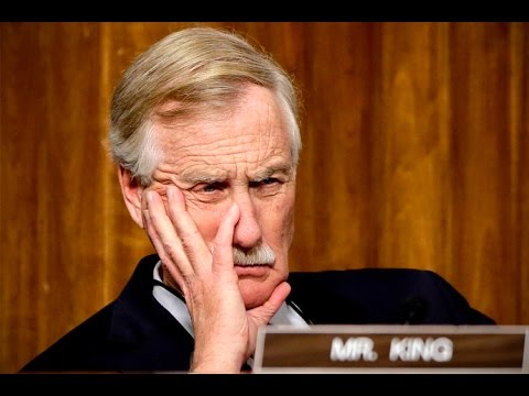 Angus King: The president should acknowledge half of the country that didn