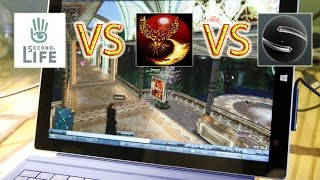 Microsoft Surface Pro 3 i5 Gaming: Second Life FPS Performance comparison ( Full HD 1080p )