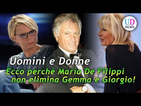 Uomini e Donne: ecco perché Maria De Filippi non elimina Gemma e Giorgio?