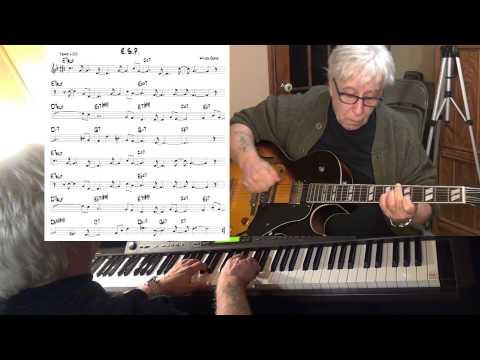 E.S.P. - Jazz Guitar & Piano Cover ( Wayne Shorter ) Yvan Jacques