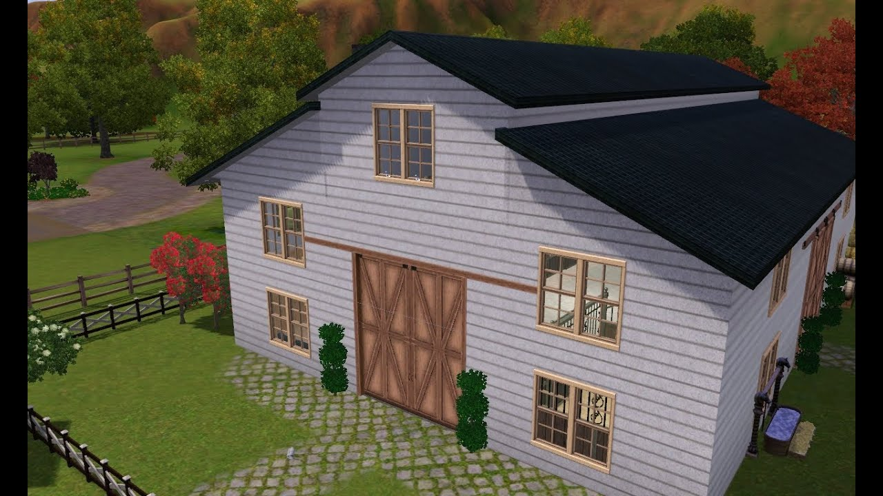 Sims  How To Build A Barn