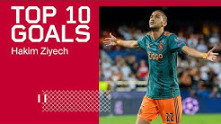TOP 10 GOALS - Hakim Ziyech