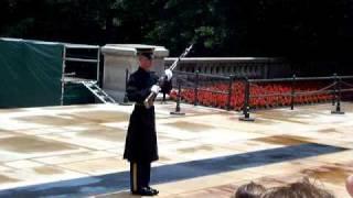 Tomb Guard Yelling at Loud Spectators