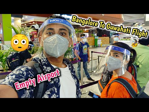 Bangalore To Guwahati Flight Travel During Covid 19 😭 Covid Test Required ? Indigo Flight