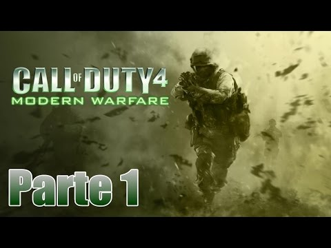 Call of Duty 4: Modern Warfare Gameplay Español Parte 1 - Pc 1080p 60 fps - No Comentado