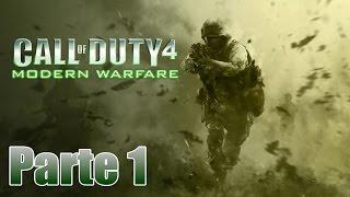 Call of Duty 4: Modern Warfare Gameplay Español Parte 1 - Pc 1080p 60 fps - No Comentado