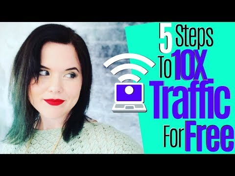 Beginner Affiliate Marketing | How To Get 10X More Traffic For Free thumbnail