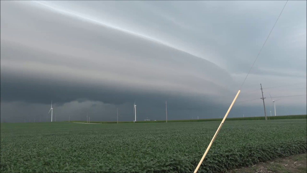 8-20-19 Severe Thunderstorm/Possible Brief Tornado Indiana/Illinois