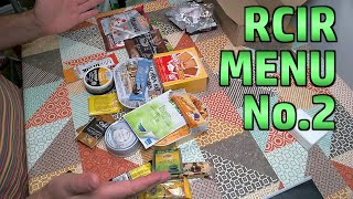 RCIR Menu 2 - French Daily Ration Pack - Unboxing And First Impressions