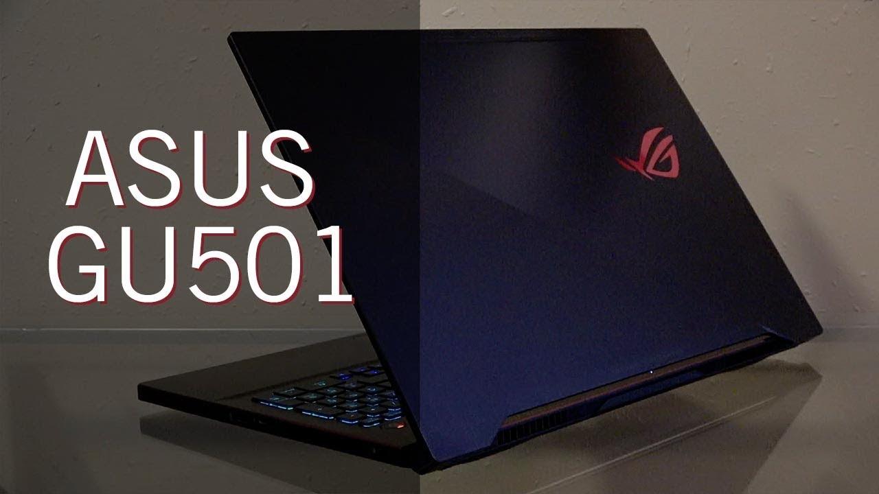 ASUS GU501 - ROG Gaming Laptop - Better Than the Alienware