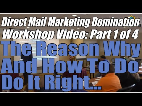 Direct Mail Marketing Domination Part 1of 4 | Learn real estate investing Baltimore