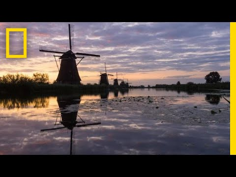 These 300-Year-Old Dutch Windmills Are Still Spinning Today | National Geographic