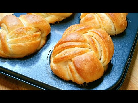 Fluffy Bun. Baking Bread. Simple And Delicious (French Pastries)