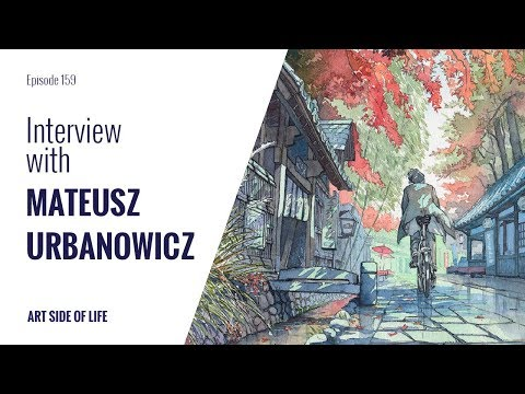 HOW TO MAKE IT AS A FOREIGN ARTIST IN JAPAN -WITH MATEUSZ URBANOWICZ (EP. 159)