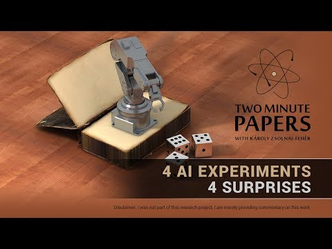 4 Experiments Where the AI Outsmarted Its Creators | Two Minute Papers #242