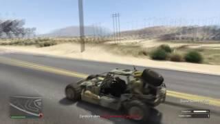 GTA Online Gunrunning #001 Unwetterwarnung | Das... war knapp :D