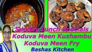 Sunday Lunch Specials Epi 4|Koduva Meen Kuzhambu & Koduva Fry