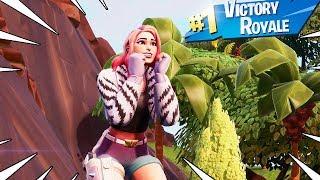 New WILDE Skin Starter Pack Gameplay In Fortnite Battle Royale..