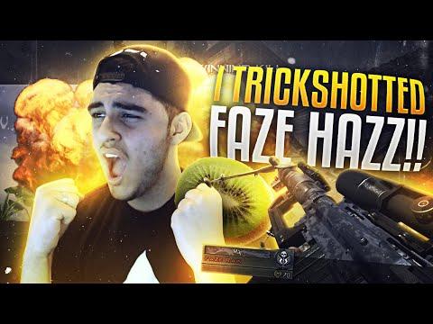 I TRICKSHOTTED FAZE HAZZ!!