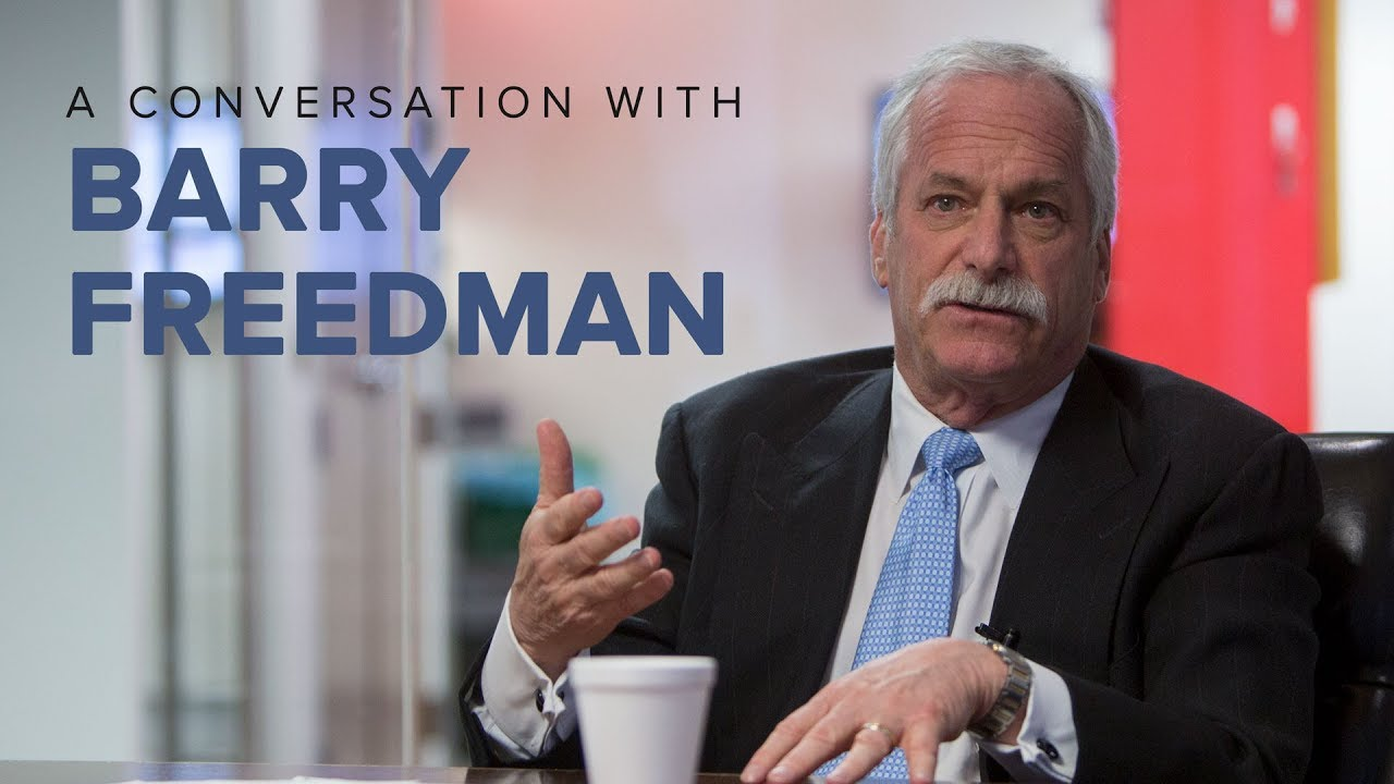 A conversation with Barry Freedman, President & CEO of