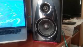 My Behringer studio monitors.