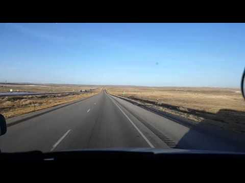 BigRigTravels LIVE VIDEOS - Rawlins to near MM 16 in Wyoming