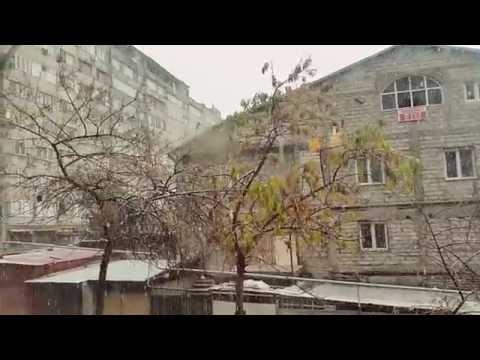 Snowing in Armenia ! November 1 2016