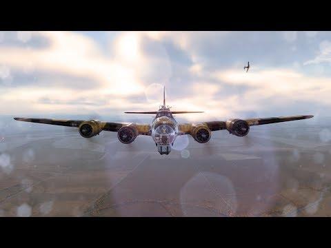 World Of Warplanes B-17G Tier 6 Bomber Flying Fortress