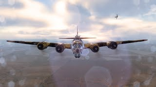 World Of Warplanes B-17G Tier 6 Bomber Flying Fortress