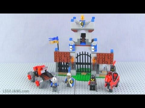 Lego Castle Gatehouse Raid 70402 Set Review Youtube