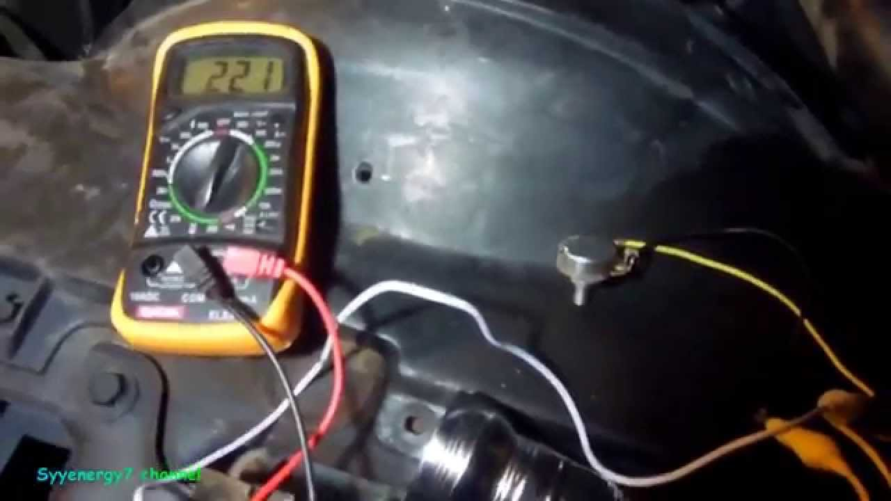 how to check a temperature gauge u0026 sending unit chevy youtube mercruiser water temperature gauge wiring diagram  [ 1280 x 720 Pixel ]