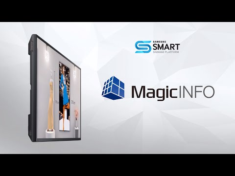 Tutoriel MagicInfo : Gestion Locale Via Télécommande/clé USB