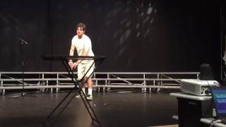 Senior Talent Show Water Bottle Flip AK 2016