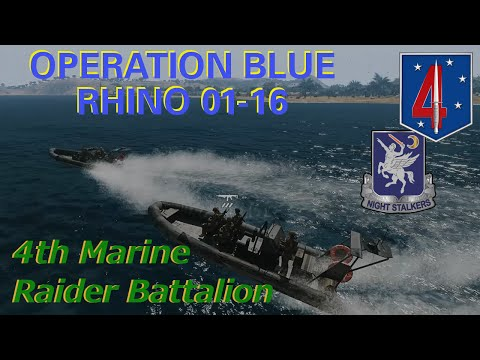 4th Marine Raider Battalion, Operation Blue Rhino 01-16