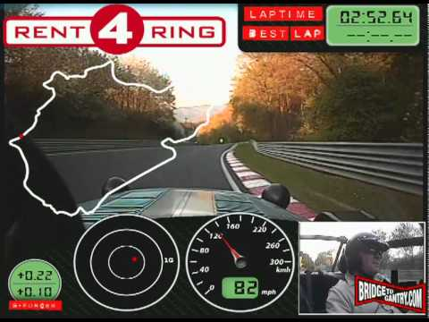 BTG's video guide to your first lap of the Nürburgring Nordschleife