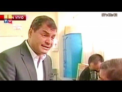 Ecuadorianer wählen ihren Staatspräsidenten