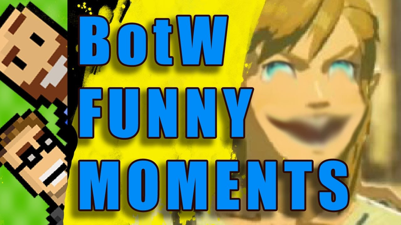 FUNNY MOMENTS! Silly Deaths, Lynel-Mounting, Horse Fires & MORE ...