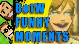 FUNNY MOMENTS! Silly Deaths, Lynel-Mounting, Horse Fires & MORE!   Breath of the Wild   The Basement