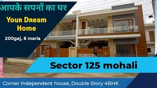 Independent house for sale in mohali – 4 BHK House for Sale Under 1 Cr | Double Storey House Mohali
