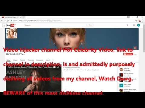Mass Disliking Channel Hot Celebrity Video