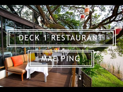 Have you tried out this Riverside Restaurant, Deck 1 in Chiang Mai?