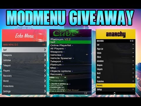 Gta 5 Best Paid Undetected Mod Menu Giveaway 1 44 Youtube
