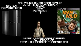 PokeCast : PlayStation 3 : Man vs. Wild with Bear Grylls