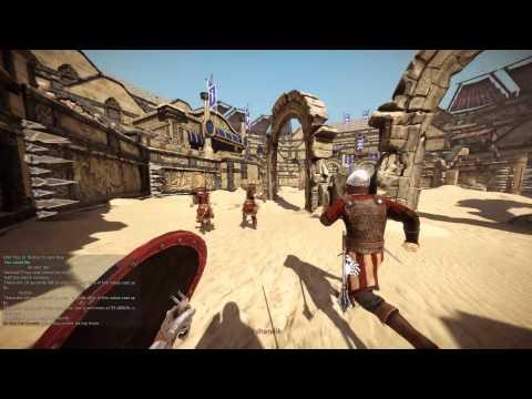 Ave Caesar, morituri te salutant (Chivalry gameplay)