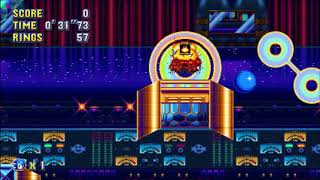 "Sonic Mania (PC) - Studiopolis 2 Sonic: 36""25 (Speed Run) [Glitched, V1.03.0919]"